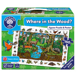 Where in the Wood? Puzzle - I Want That Present