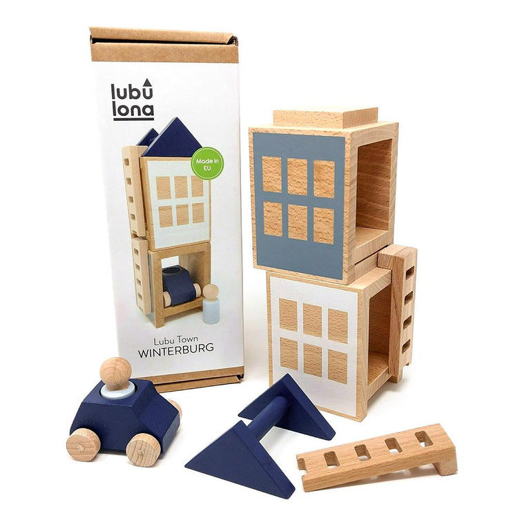 Lubulona Wooden Luba Town - Winterburg Mini