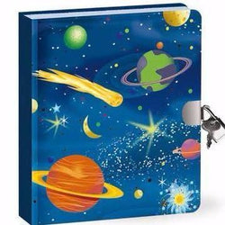 Deep Space Lock & Key Diary - I Want That Present