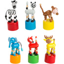 Dancing Animal Push Puppets