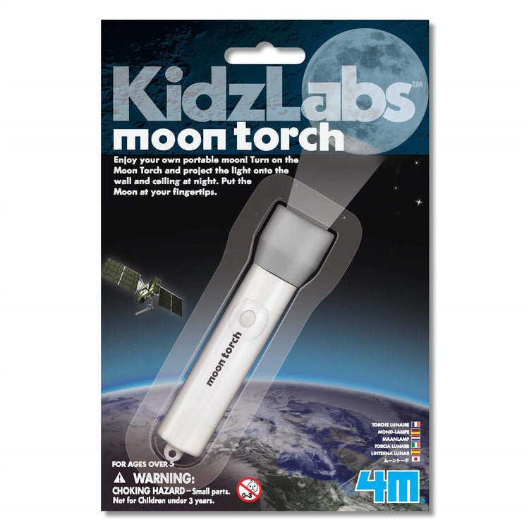 4M KidzLabs Moon Torch