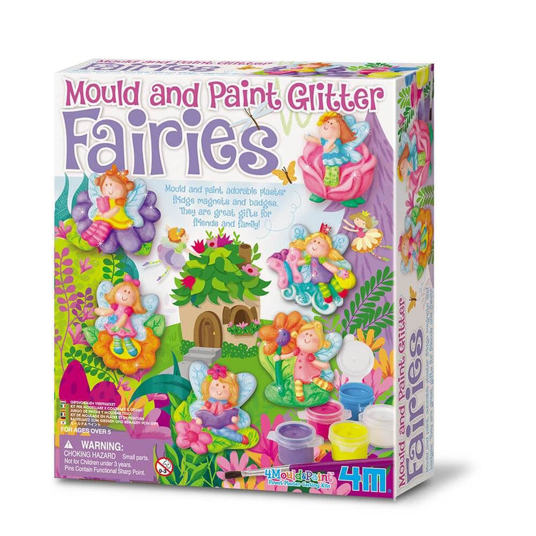 4M Mould & Paint - Glitter Fairies