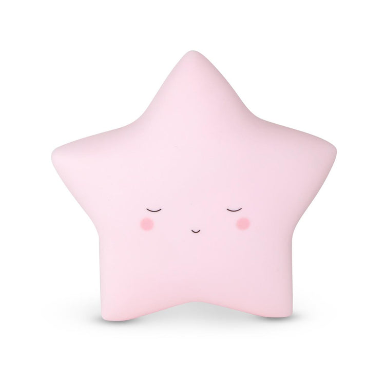 Baby Pink Star Little Night Light
