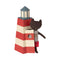 Maileg Sauveteur (Lifeguard) Tower & Black Cat