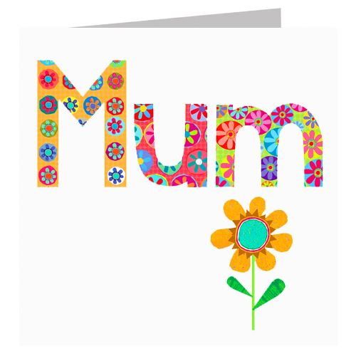 Greetings Card - Mum