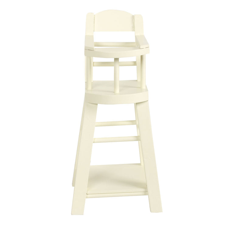 Maileg Micro Bunny White Highchair
