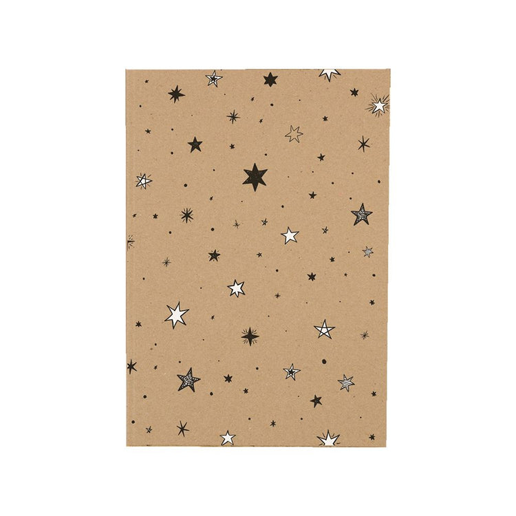 WishStrings A6 Star Pattern Notebook