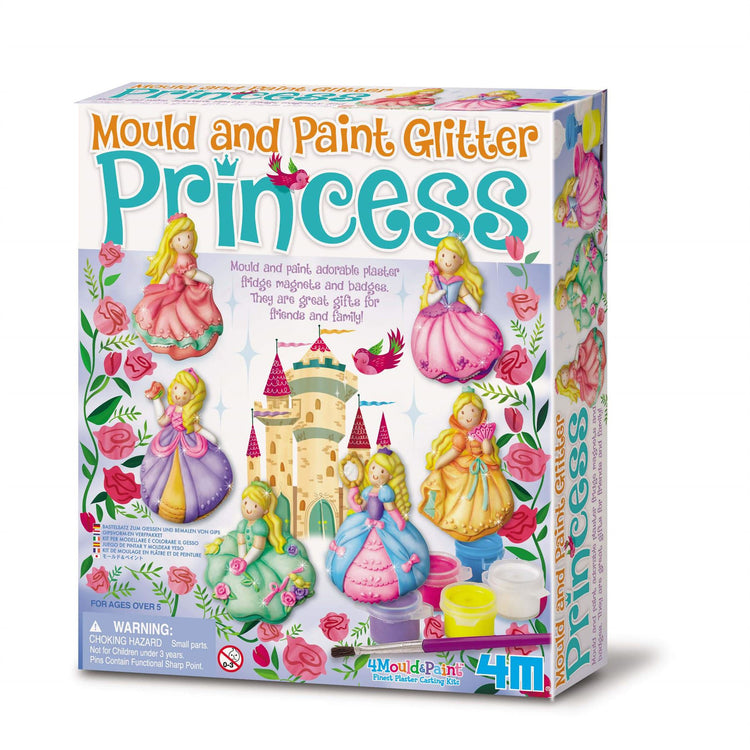 4M Mould & Paint - Glitter Princesses