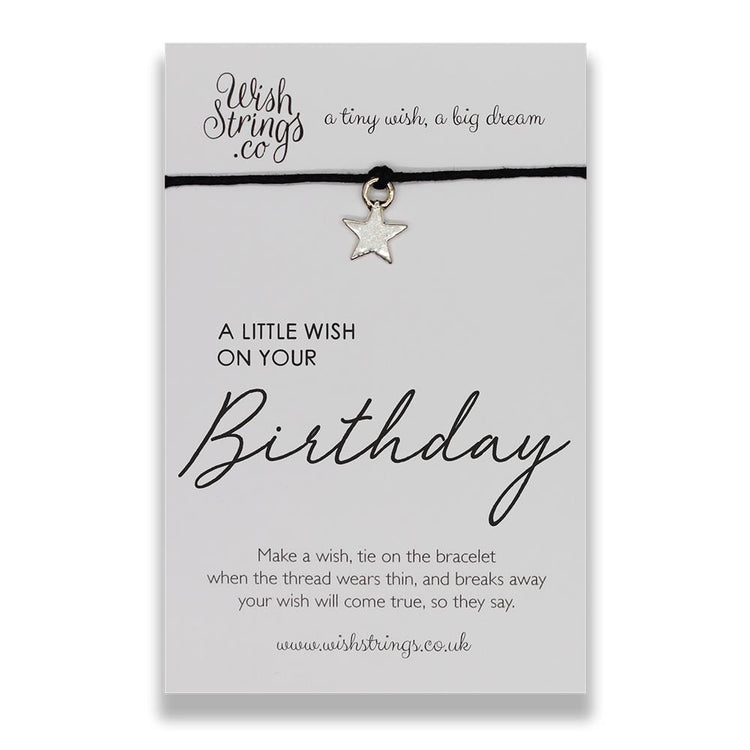 Little Wish Birthday - Wish Bracelet