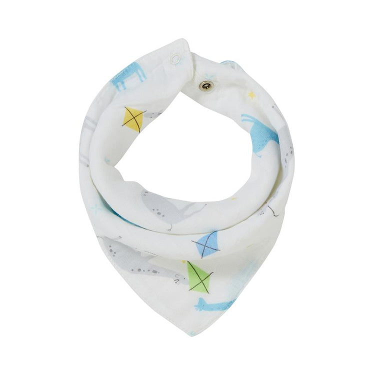 Angel Dear Giraffes with Kites Bandana Bib