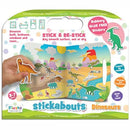 Dinosaur Stickabouts - Reusable Stickers