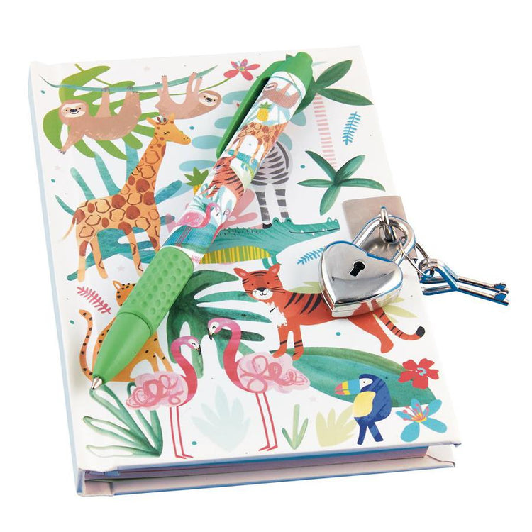 Jungle Diary with Scented Pen by Floss & Rock