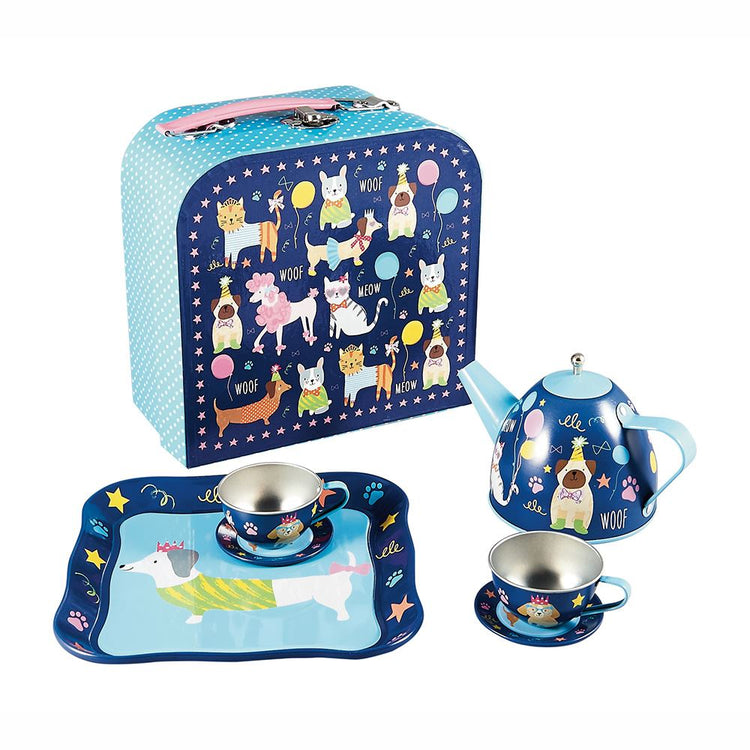 Pets 7 Piece Tea Set by Floss & Rock