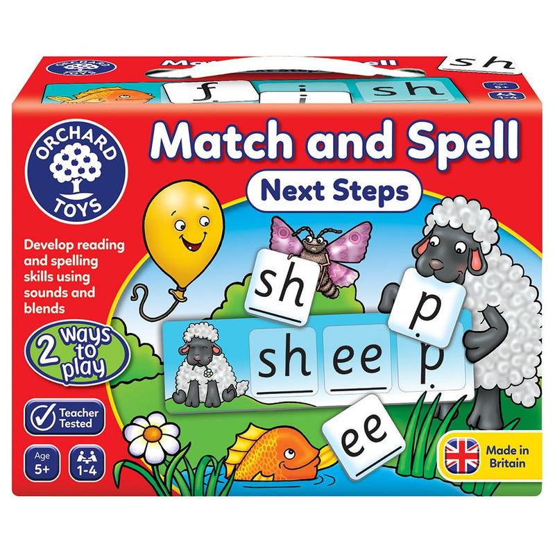 Match & Spell - Next Steps