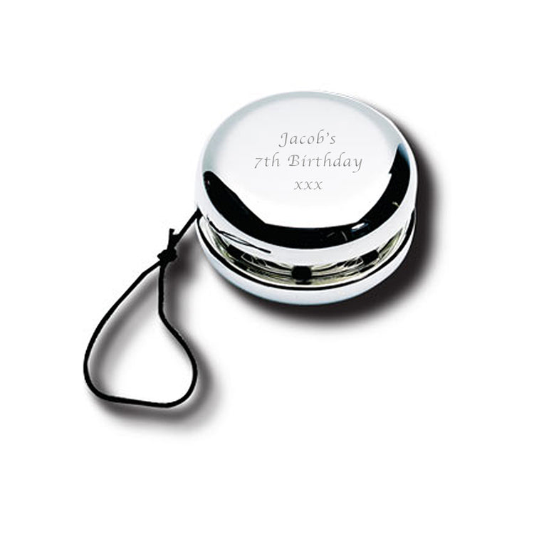 Personalised Silver Plated Yo-Yo