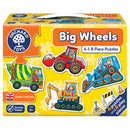 Big Wheels Puzzle