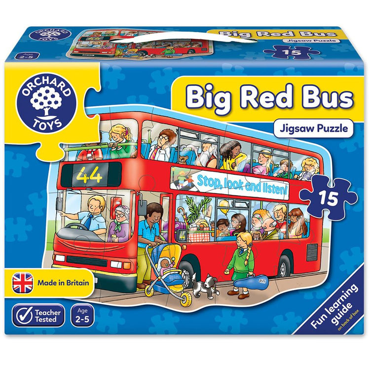 Big Red Bus Puzzle