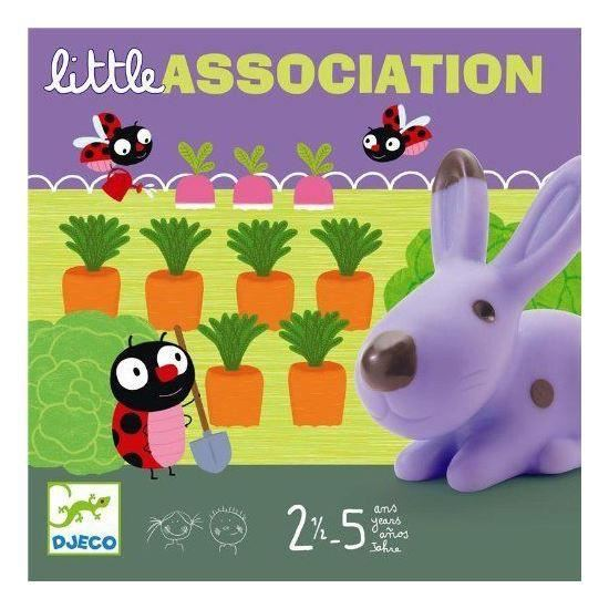 Djeco Little Association Game - I Want That Present