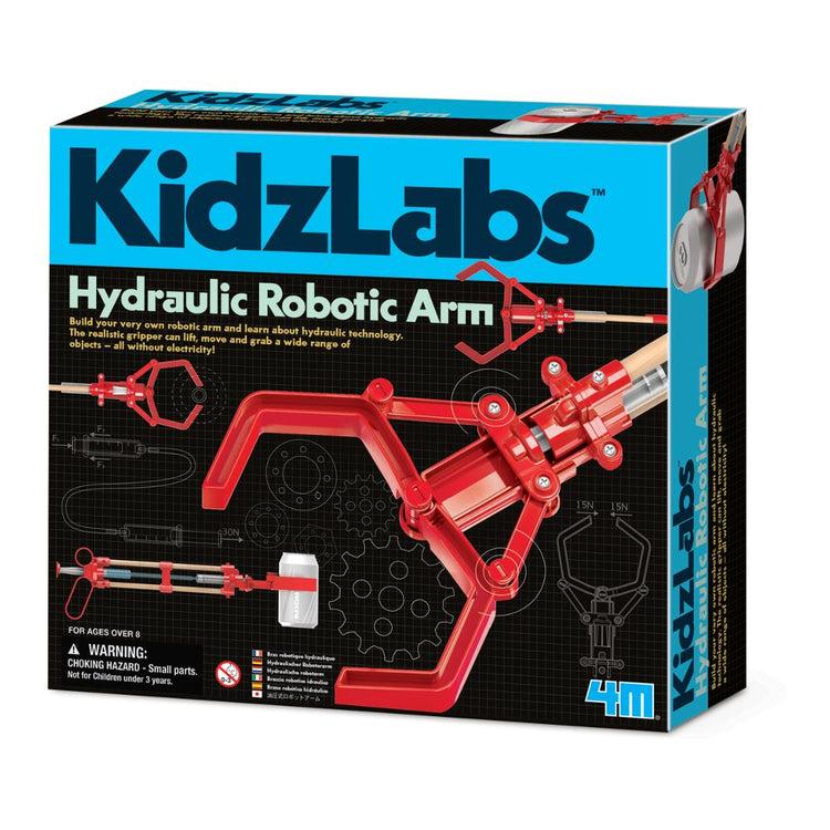 4M KidzLabs - Hydraulic Robotic Arm
