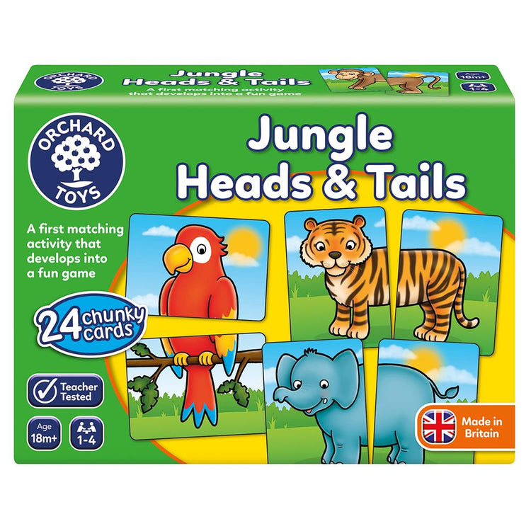 Jungle Heads & Tails Puzzles