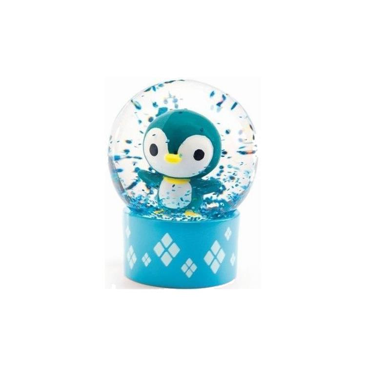 Djeco Mini Snow Globe - Penguin