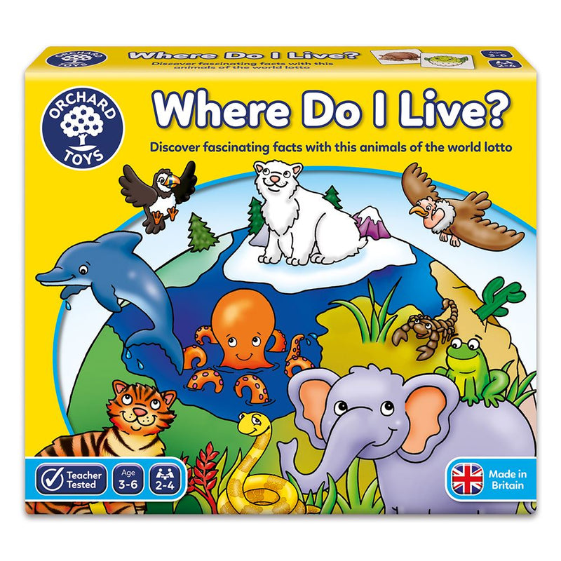 Where do I live? Game