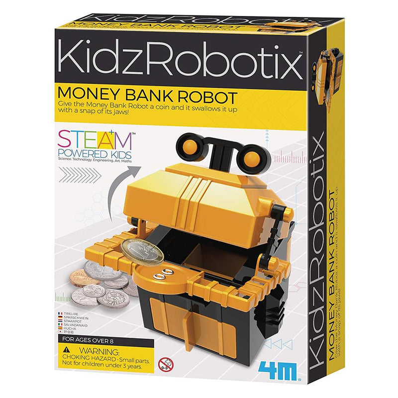 4M KidzRobotix - Money Bank Robot