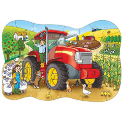 Big Tractor Puzzle - I Want That Present