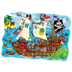 Pirate Ship Puzzle - I Want That Present