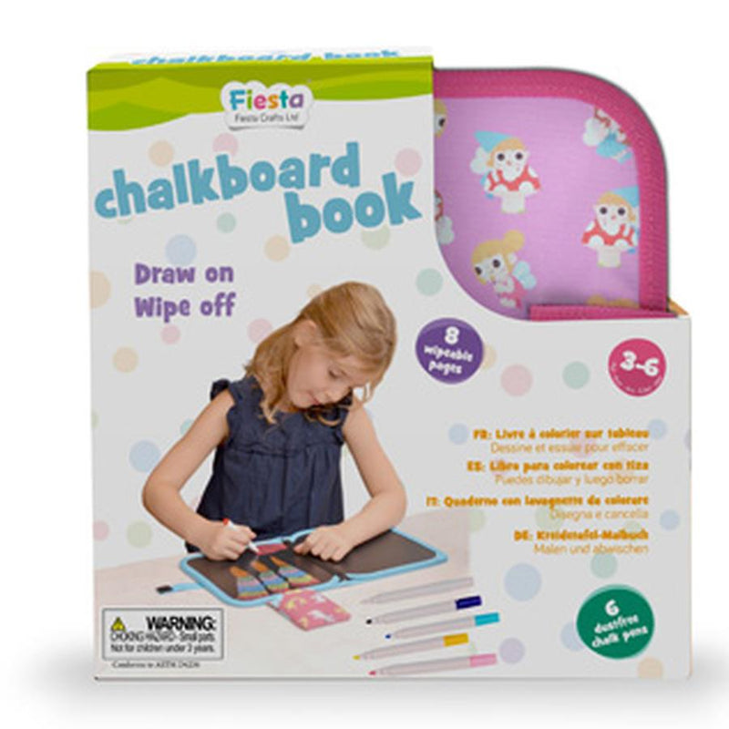 Chalkboard Fairy Colouring Book