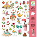 Djeco Stickers - Princess Tea Party - I Want That Present