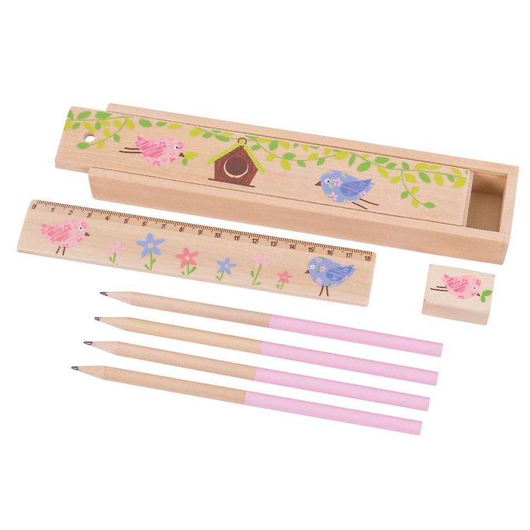 Bigjigs Song Bird Pencil Box - I Want That Present