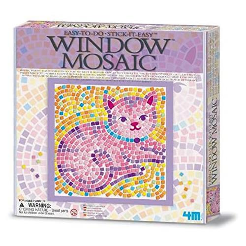 4M Window Mosaics - Cat