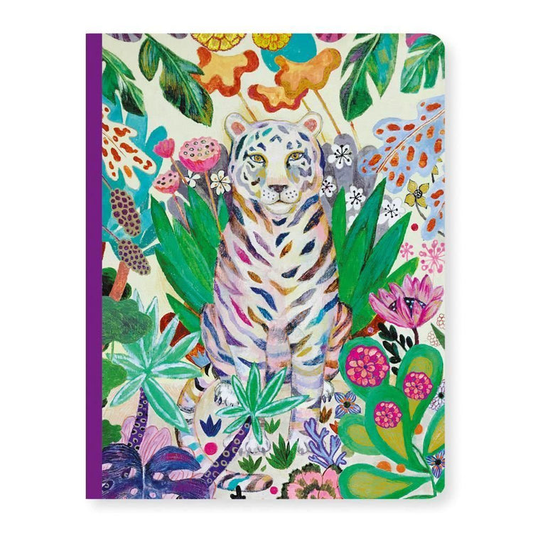 Djeco A5  Notebook - Martyna Tiger - I Want That Present