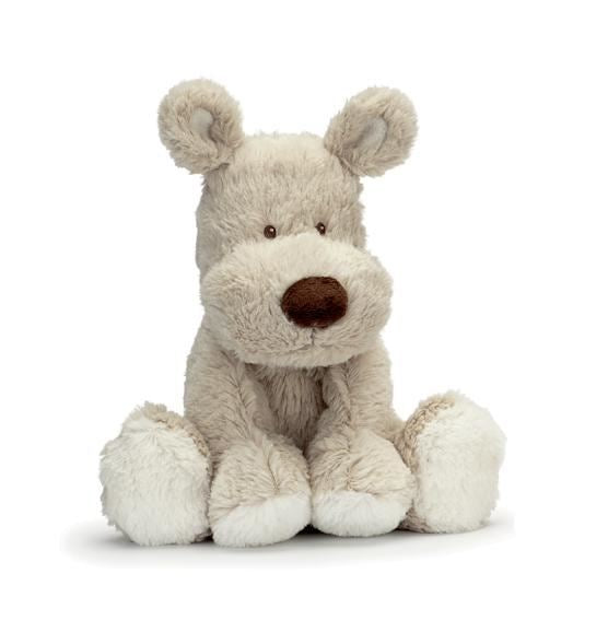 Teddykompaniet Small Beige Puppy Soft Toy