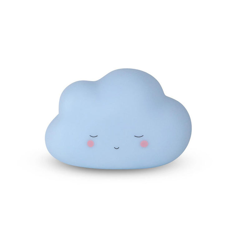 Baby Blue Cloud Little Night Light