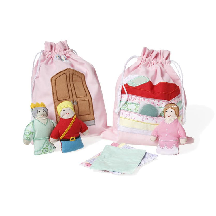 Oskar & Ellen Princess & the Pea Story Bag