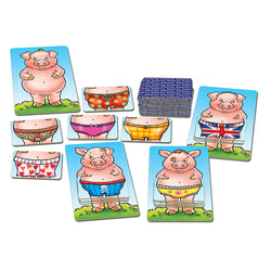Pigs in Pants Game - I Want That Present