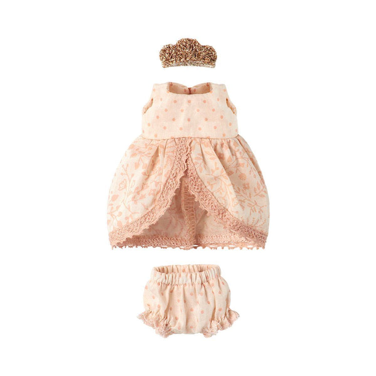 Maileg Micro & Mouse, Rose Princess dress