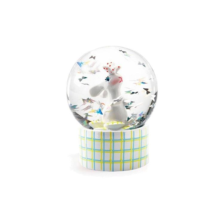 Djeco Mini Snow Globe - Little Rabbit