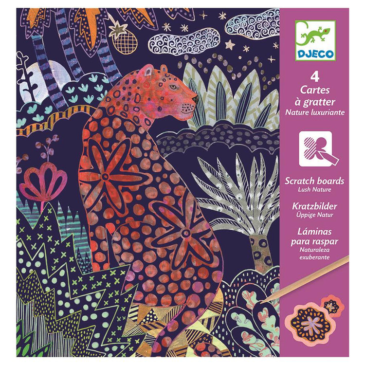 Djeco Scratch Cards - Lush Nature