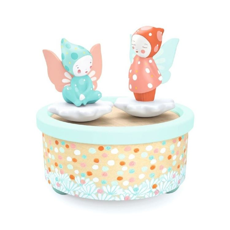 Djeco Magnetic Music Box - Fairies - I Want That Present