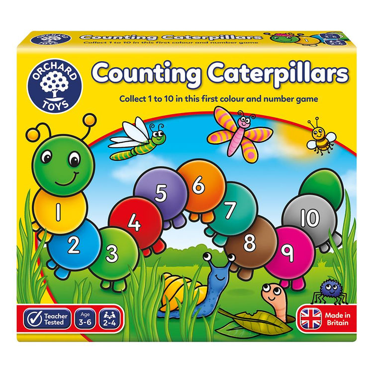 Counting Caterpillars Games