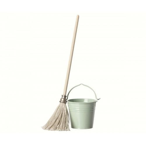 Maileg Micro Bucket and Mop