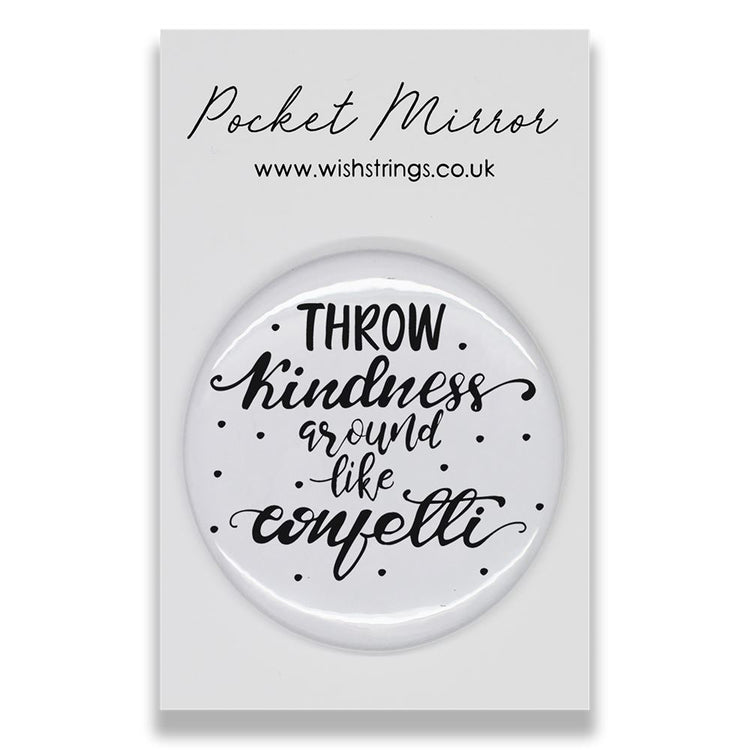 Throw Confetti - Pocket Mirror