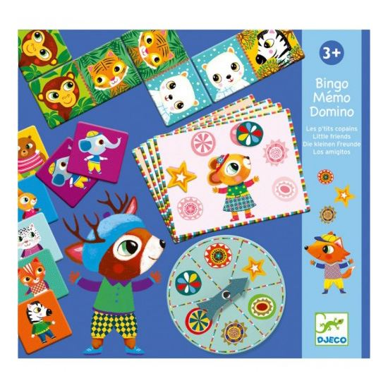 Bingo, Memo & Domino Games - Little Friends