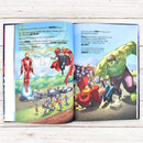Personalised Avengers Beginnings from Here to Infinity Marvel Story Book