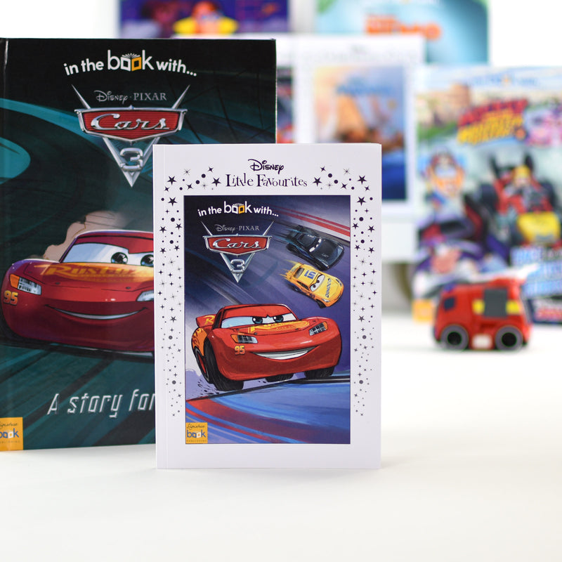 Personalised Disney Little Favourites Cars 3