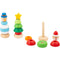 Wooden Christmas Stacking Toys
