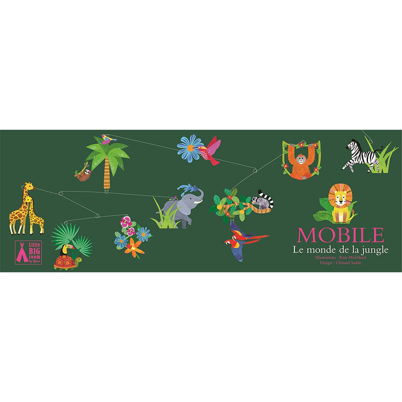 Djeco Mobile - The jungle World